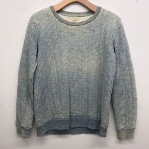 Madewell Quilted Sweatshirt